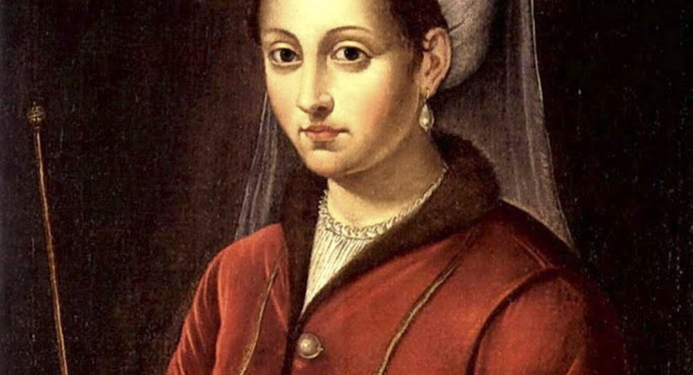 Roxelana, žena tureckého sultána Sulejmana Nádherného