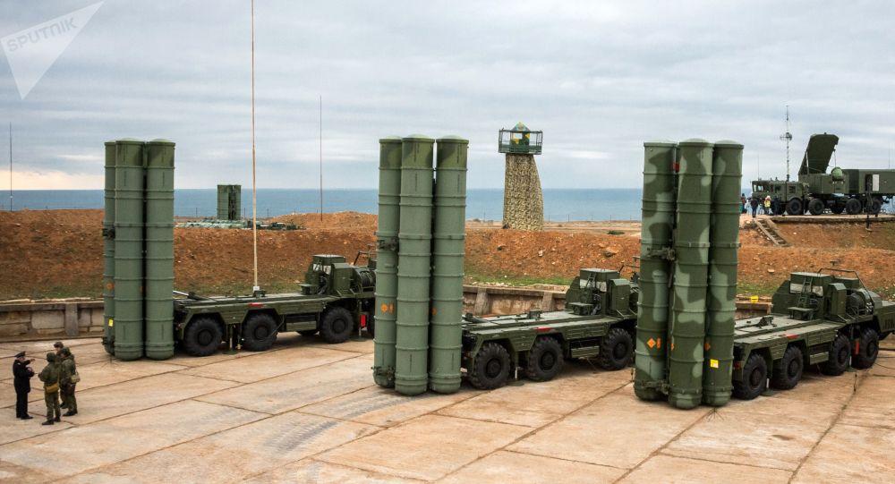 Ruský systém protivzdušné obrany S-400 Triumf