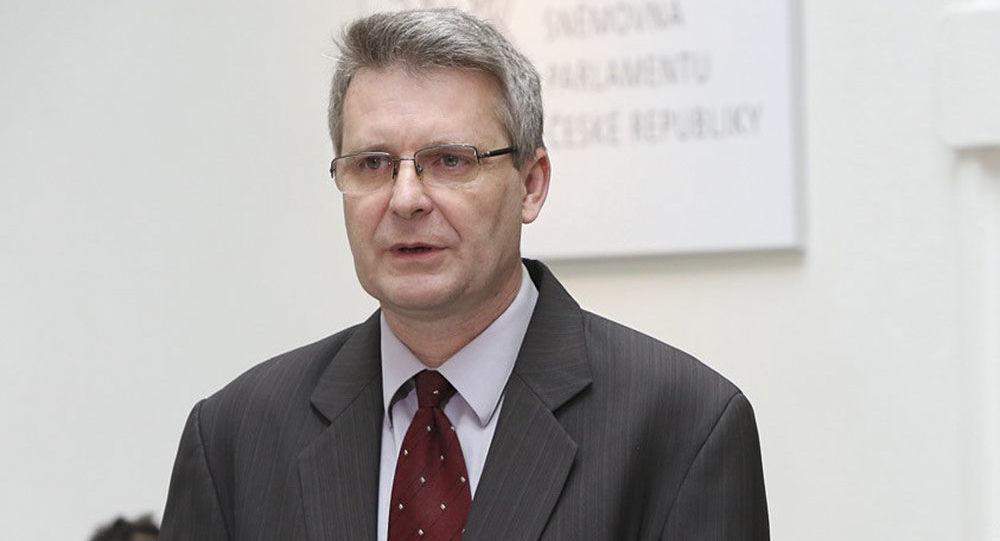 Místopředseda KSČM JUDr. Stanislav Grospič