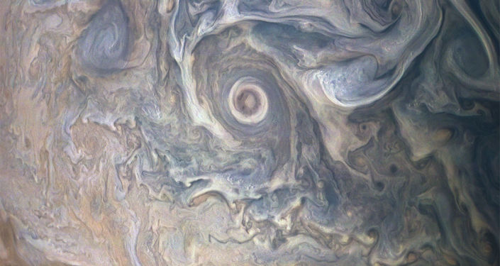 NASA zveřejnila neobvyklý obraz mraků na Jupiteru