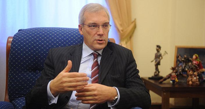 Stálý zástupce RF v NATO Alexandr Gruško