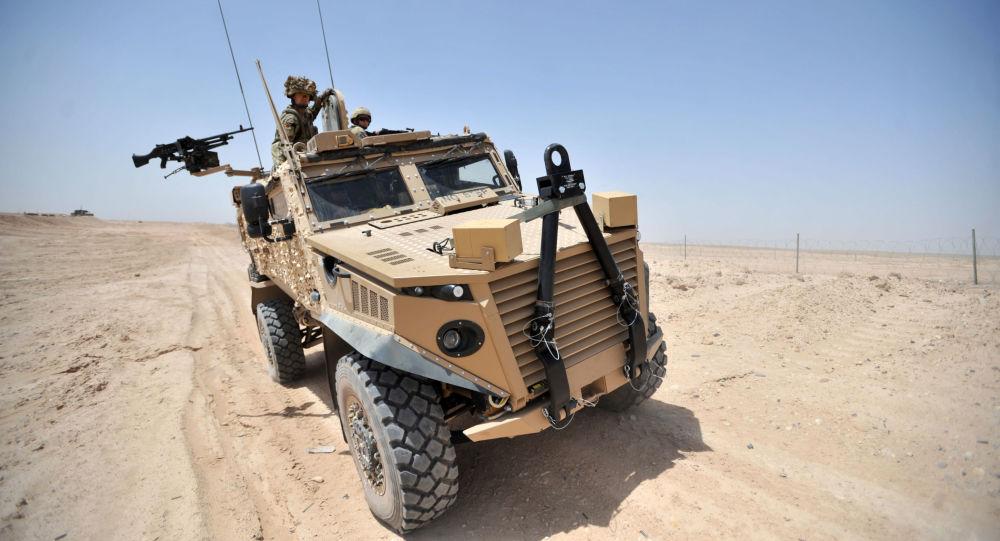 Britské obrněné vozidlo Foxhound