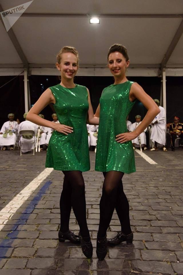 Michaela Šenková a Simona Janikovičová po vystoupení na festivalu Spasská věž 2018