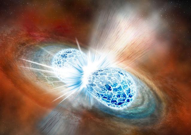 Střetnutí neutronových hvězd