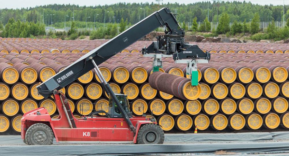 Potrubí pro Severní proud 2 ve Finsku