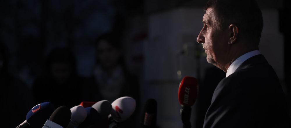 Český ministerský předseda Andrej Babiš