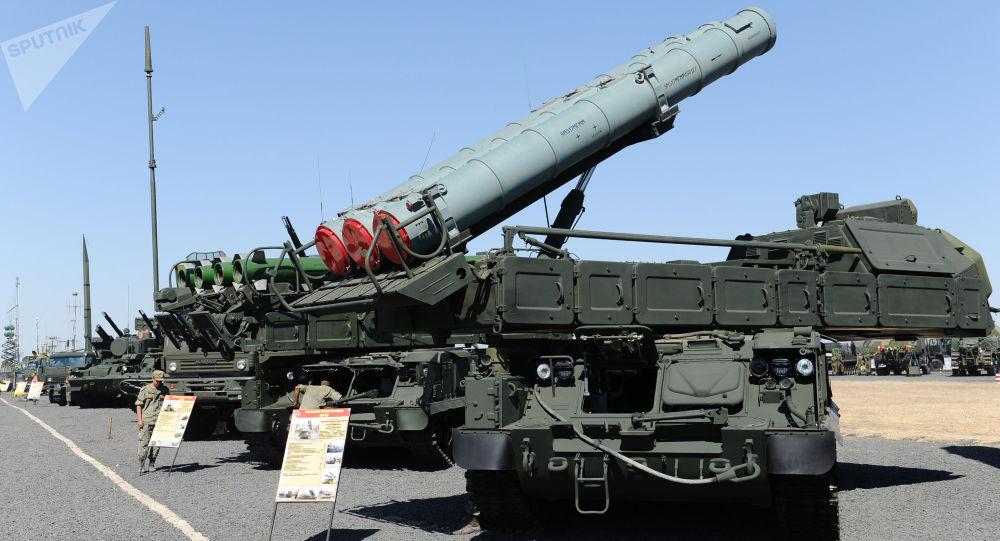 protiletadlový komplex Buk-M3