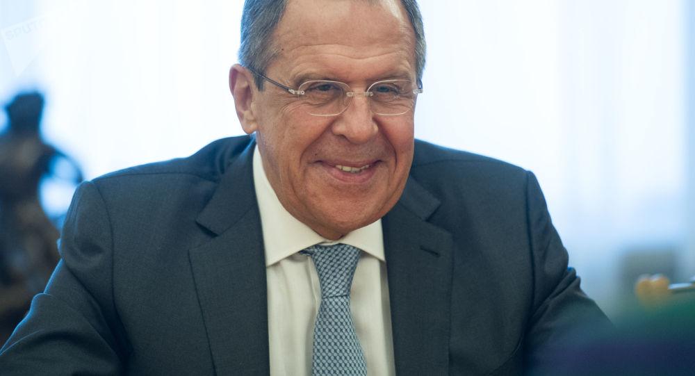 Ministr zahraničí RF Sergej Lavrov