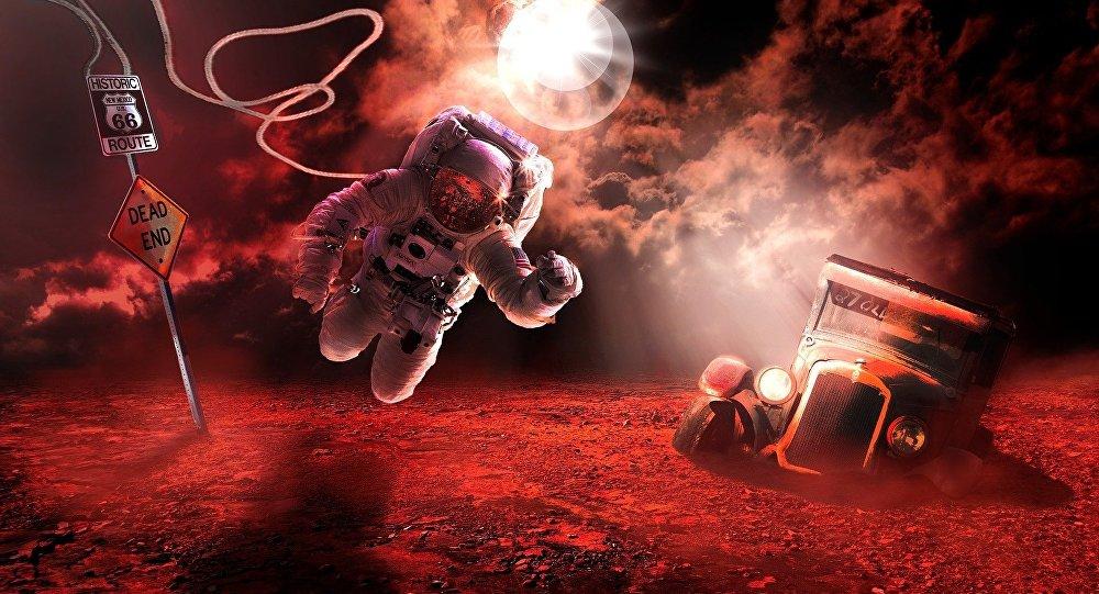 Cesta na Mars