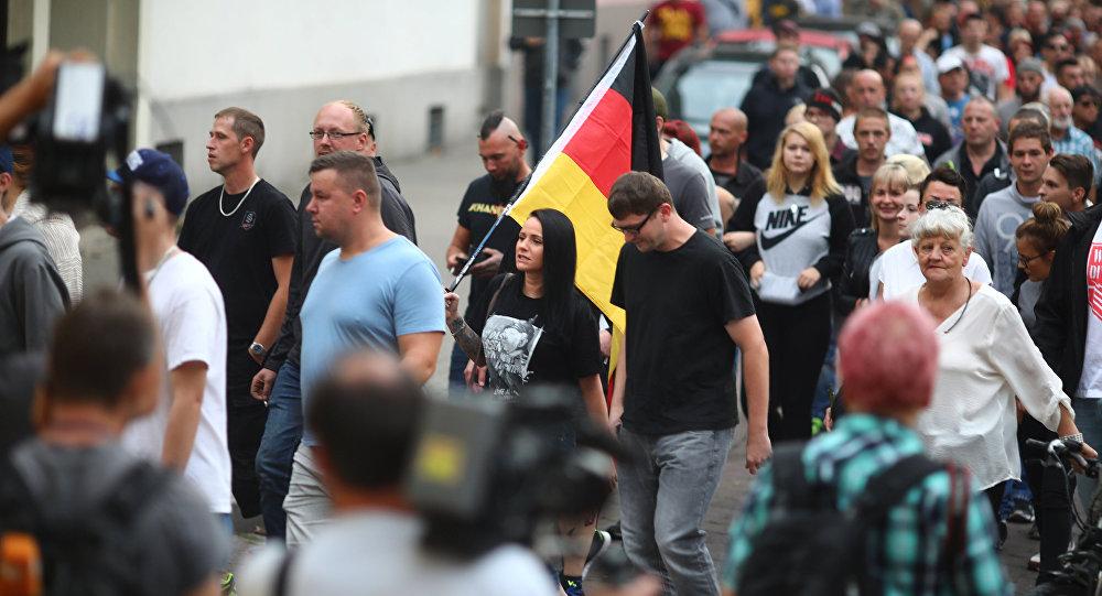 Protesty v Köthenu. 8. 9.