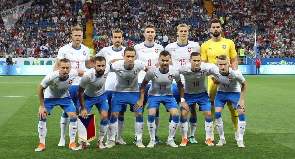 Česká reprezentace před zápasem s ruským týmem v Rostovu, 10. záři