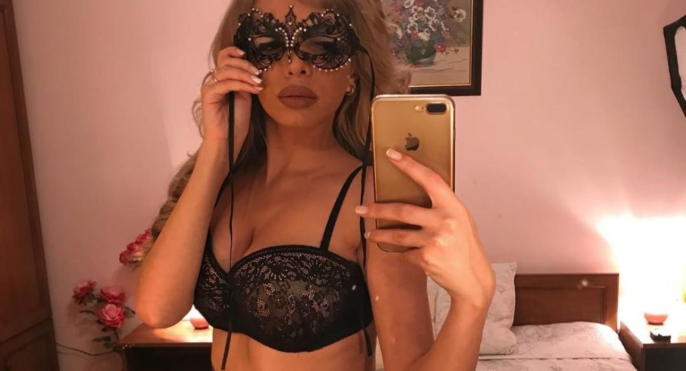 Bulharská modelka Janeta Osipova