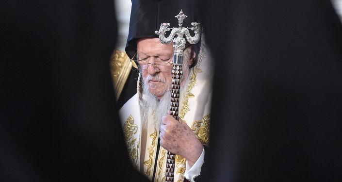 Konstantinopolský patriarcha Bartoloměj I.