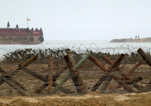 Pohraniční stráž. Azovské moře