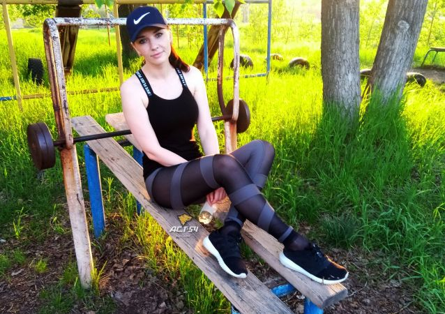 Hrdinka Jekatěrina z Novosibirsku