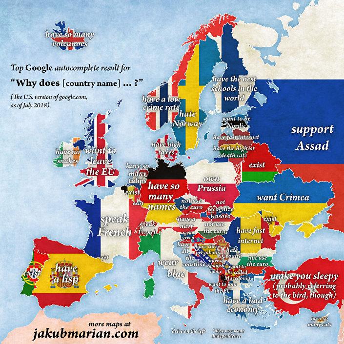 Proč Česko…? Čech si pohrál s Googlem. Výsledky vás pobaví