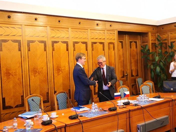 Roman Maršavin a Jan Zaplatílek