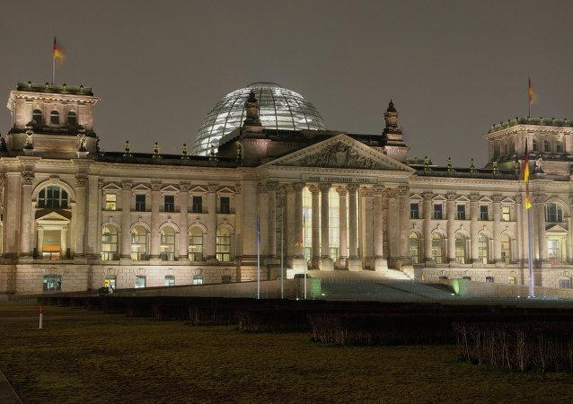 Budova Bundestagu v Berlíně