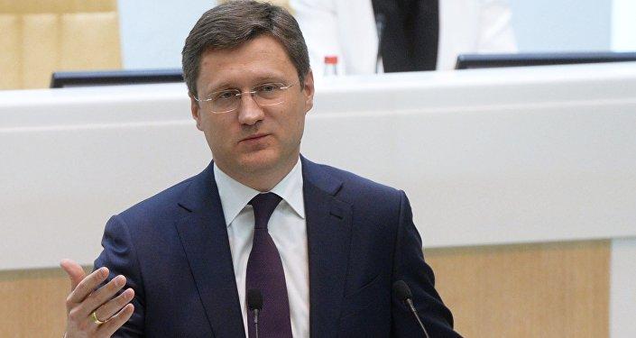 Ministr energetiky Ruska Alexandr Novak