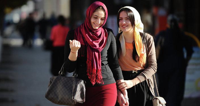 Čečenské dívky