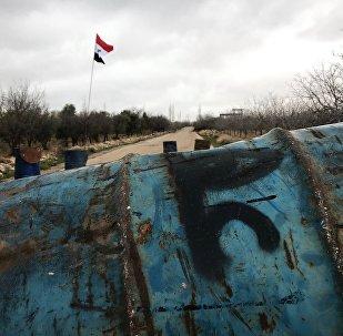 Kunejtra, nedaleko hranice Sýrie a Izraele