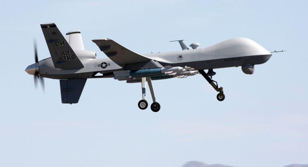Americký výzkumný bezpilotní letoun MQ-9 Reaper. Ilustrační foto