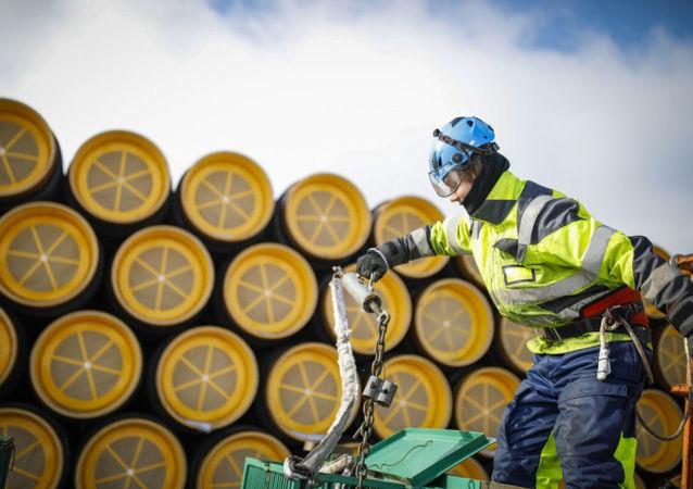 Potrubí pro plynovod Nord Stream 2