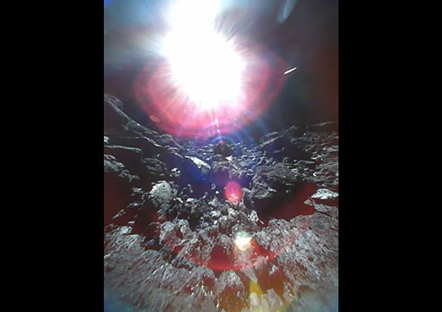Bylo zveřejněno první VIDEO v historii z povrchu asteroidu