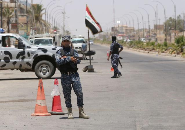 Irák, policisti