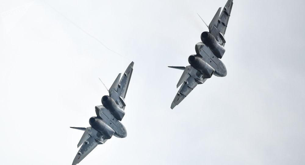víceúčelová stíhačka páté generace Su-57
