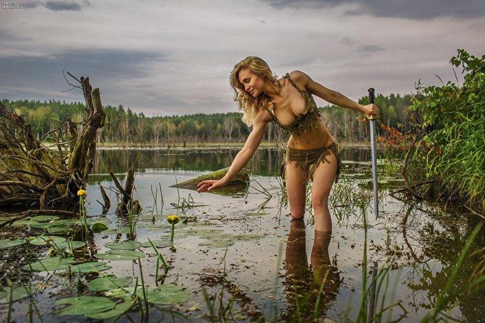 Série fotografií Amazonky