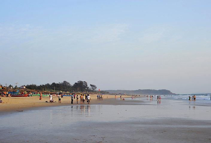 Calangute, Goa, Indie