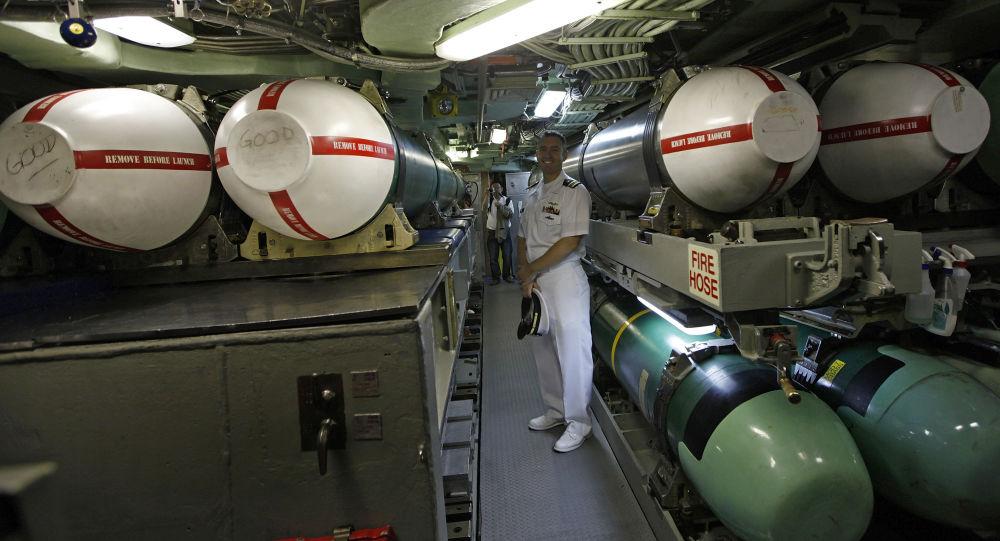 Rakety Tomahawk na palubě ponorky USS Hampton