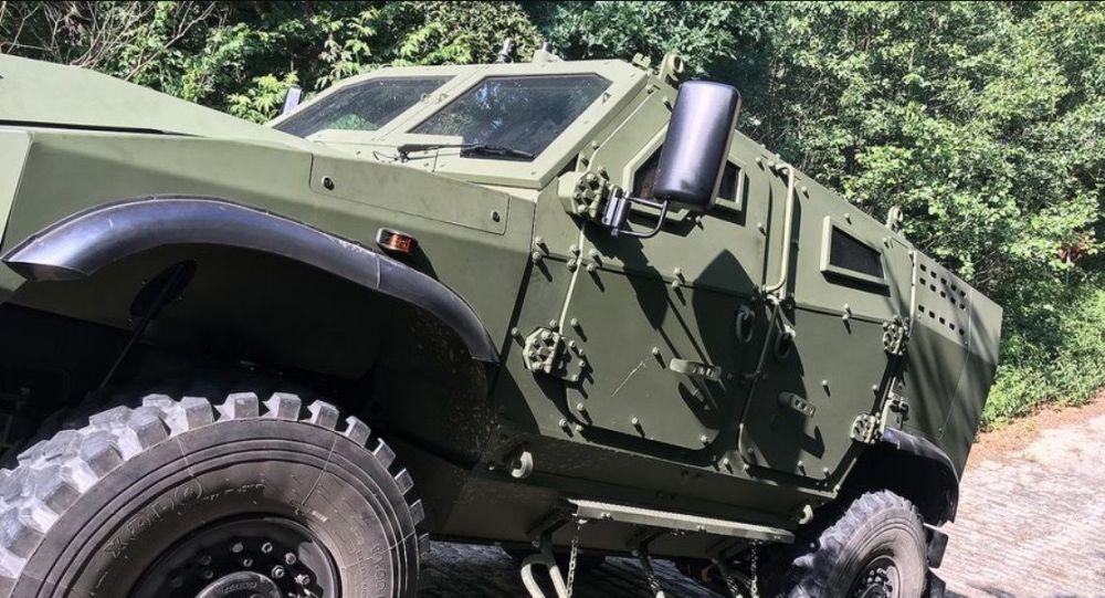 Obrněný transportér Zetor Gerlach 4x4