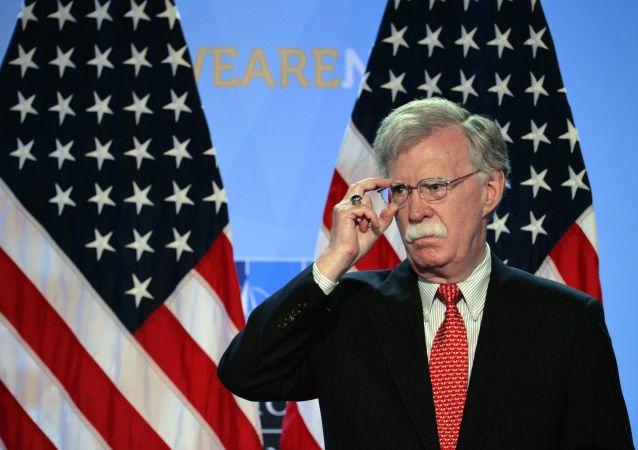 Poradce pro národní bezpečnost USA John Bolton