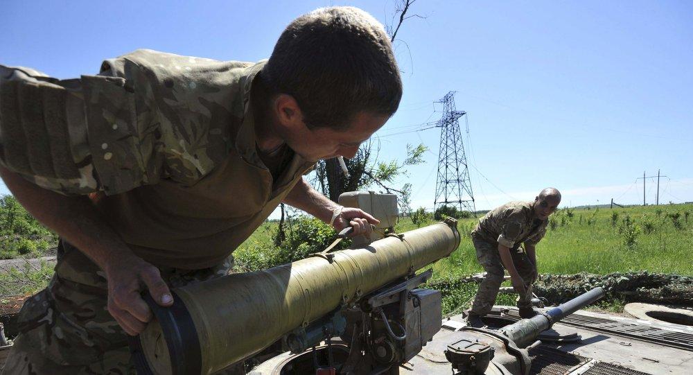 Ukrajinská armáda. Ilustrační foto