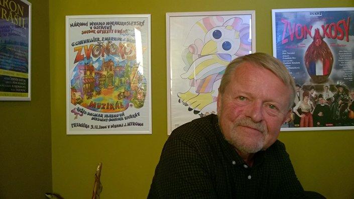 Scenárista, dramatik, novinář, spisovatel a textař Petr Markov