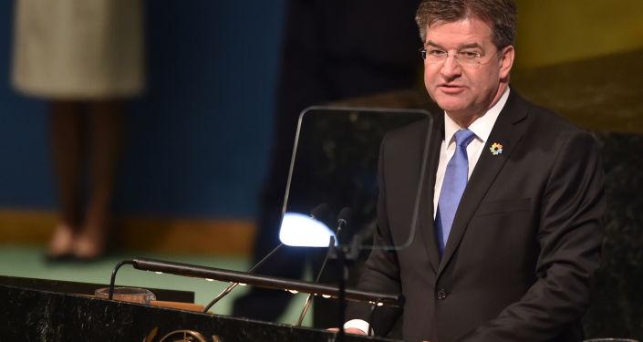 Slovenský ministr zahraničních věcí Miroslav Lajčák