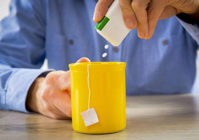 Čaj s náhražkou cukru