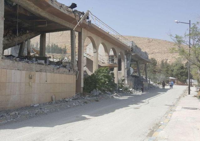 Výzkumné středisko v Sýrii, které vybombardovala koalice
