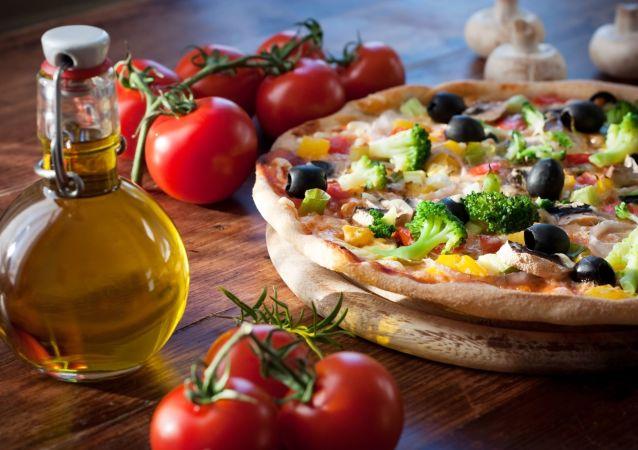 Pizza se zeleninou