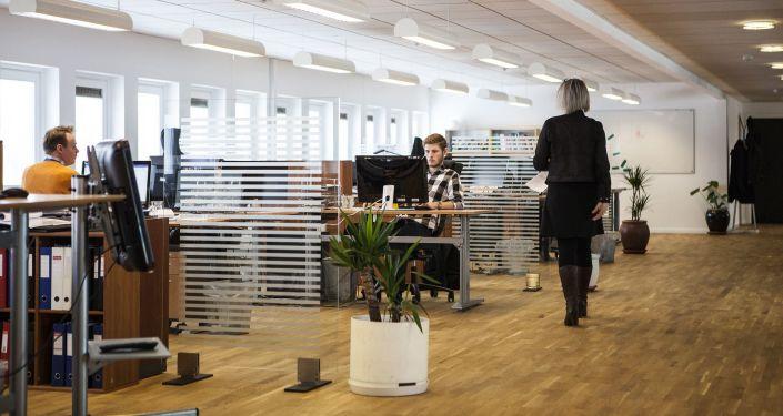 Zaměstnanci v kanceláři