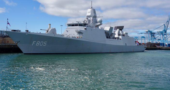 Loď nizozemského námořnictva HNLMS Evertsen