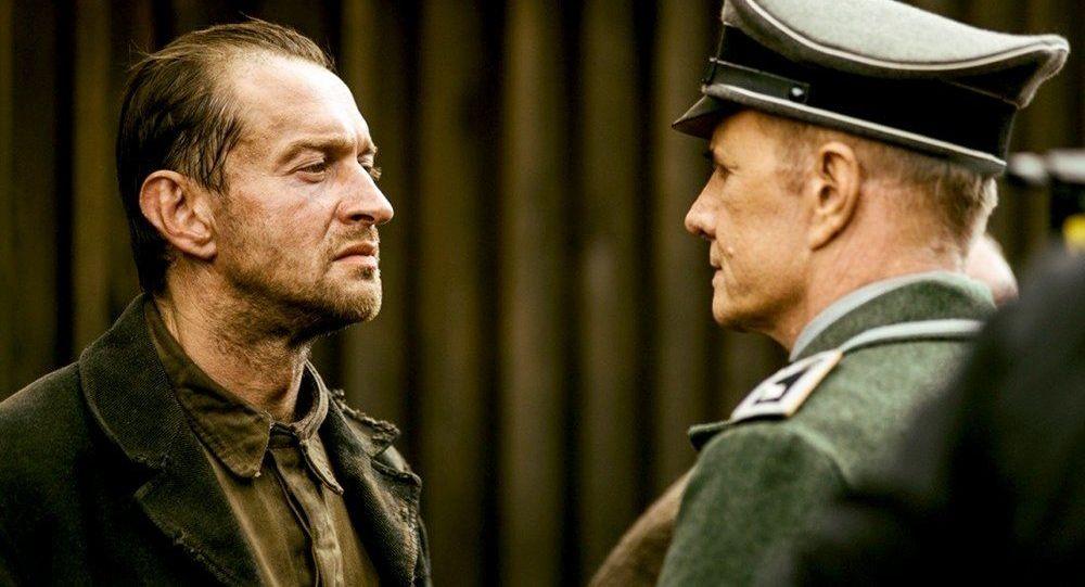 Záběr z filmu Sobibor