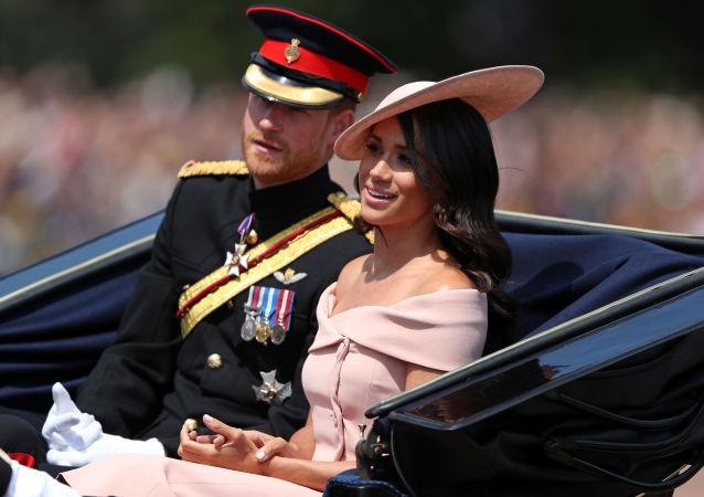 Meghan Marklová a Princ Harry