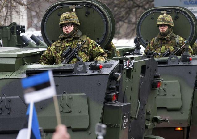 Estonští vojáci