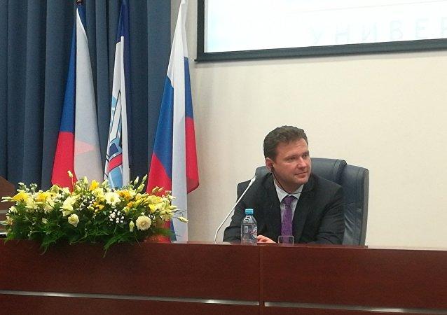 Předseda Poslanecké sněmovny PČR Radek Vondráček