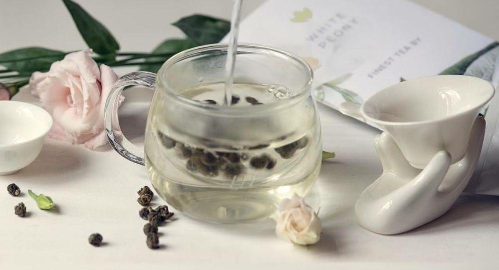 Luxusní zelený čaj White Peony