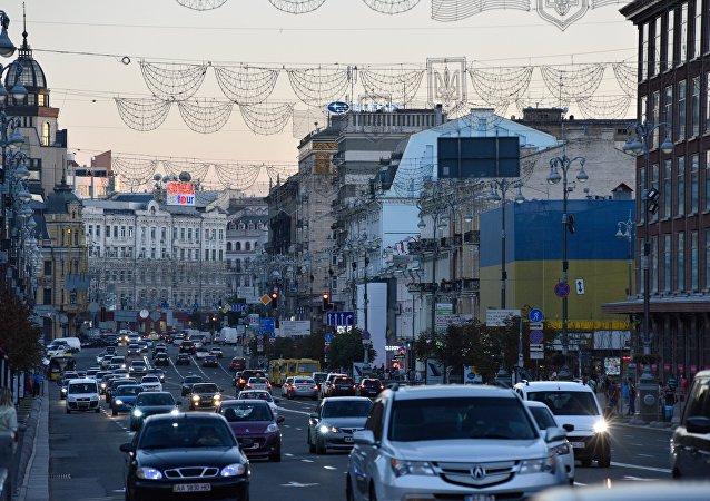 Ulice Kyjeva. Ilustrační foto