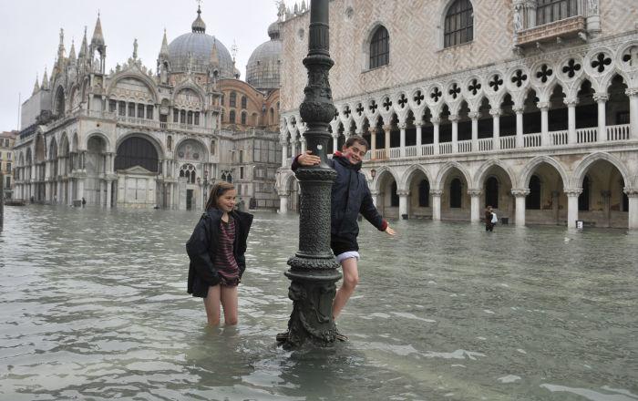 Na pokraji smrti. Středomořská města, která už klesají pod vodu